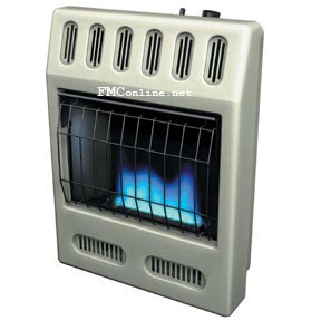 Glowarm blue flame vent free heater and blue flame vent free heater accessories for Glowarm, Comfort Glow, Reddy and Vanguard by Desa